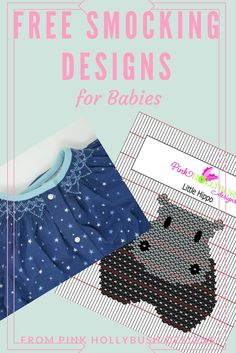 A Round-up of free smocking designs for babies