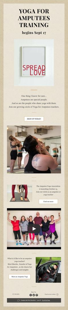 Amputees are special people. And so are the people who share yoga with them. Join our growing circle of Yoga for Amputees teachers. Danzig, Special People, Program Design, Teacher, Train, Yoga, Professor, Zug