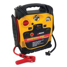 Wagan 500 Amp Battery Jumper with Air Compressor - Overton's