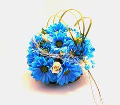 Bukiet ślubny, niebieskie kwiaty, lazurowa inspiracja. Crown, Jewelry, Jewellery Making, Corona, Jewels, Jewlery, Jewerly, Crowns, Jewelery