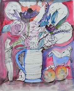 lydia corbett Art Types, Ga Ga, Georges Braque, Artist Studios, House Art, Cubism, Art Floral, Pablo Picasso, Ponytail