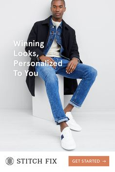 With Stitch Fix, we pair you with a Personal Stylist, who hand-selects clothing and accessories to match your taste, size and price range. What's even better? There's never any commitment—this is fashion on your terms. Try on pieces at home and keep your Leather Flight Jacket, Tactical Clothing, Elegant Man, Fashion Poses, Personal Stylist, Black Men, Menswear, Men Casual, Mens Fashion