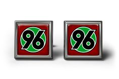 Hannover 96 FC Cufflinks Manschettenknöpfe #Cufflinks #personalized #football