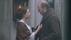Daniela Denby-Ashe (Margaret Hale) & Tim Pigott-Smith (Mr. Richard Hale) - North & South directed by Brian Percival (TV, Mini-Series, BBC, 2004)