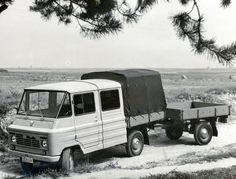 ▐ В 1972 году новый сорт Żuka-A16 дебютировал для перевозки 5 человек и 550 кг груза, а прицеп имел грузоподъемность 400 кг. Этот набор был разработан в соответствии с правительственными инструкциями по История польского автомобилестроения - как был создан Жук Cars And Motorcycles, Recreational Vehicles, Lego, Trucks, Vintage, Poland, Pickup Trucks, History, Antique Cars