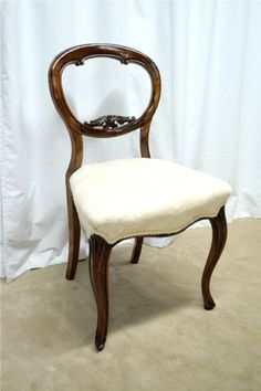 American Victorian Laminated Rosewood Open Back Arm Chair With Scroll  Design (3 Matching Side Chairs) | Pinterest | Victorian, Arms And Side Chair