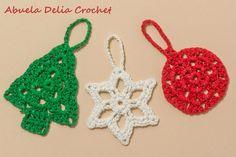 Adornos Navideños en Crochet