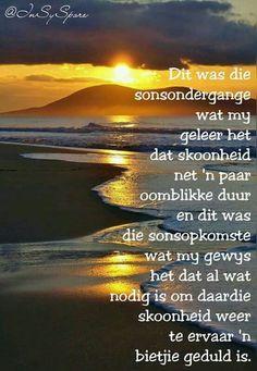 Geduld Goeie More, Afrikaans Quotes, Messages, Van, Night, Wallpaper, Patience, Wallpapers, Vans