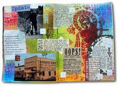 Chronicles week23 by Marit #artjournaling