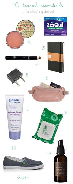 travel essentials that make long trips easier!