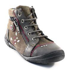 452A CATIMINI CYNDIE GRIS www.ouistiti.shoes le spécialiste internet de la chaussure enfant et femme collection automne hiver 2014 2015