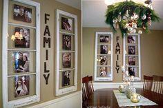 Aquí os dejamos algunas ideas de geniales y muy sencillas para integrar nuestras imágenes a la decoración.