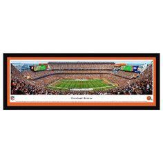 Cleveland Browns Football Stadium Framed Wall Art