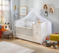 De Sachsa babykamer is van top kwaliteit en naturel. Daardoor Is deze kamer goed te combineren met ander meubilairwww.nl of klik op de link in onze bio ⬆ Bebe Baby, Baby Room, Cribs, Toddler Bed, Interior Design, Inspiration, Furniture, Home Decor, Leo