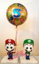Standing Mario and Luigi cake - - sweetthingsbywendy.ca Luigi Cake, Mario And Luigi, Let Them Eat Cake, Snowman, Cakes, Disney Characters, Sweet, Food Cakes, Pastries