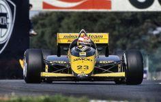 Adrian Campos - Minardi M187 - 1987 San Marino Grand Prix (Imola)