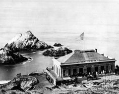 San Fancisco Architecture : The Cliff House, San Francisco, Photographic Print Old Pictures, Old Photos, Cliff House San Francisco, Sutro Baths, San Fernando Valley, San Fransisco, Golden Gate, Architecture, City