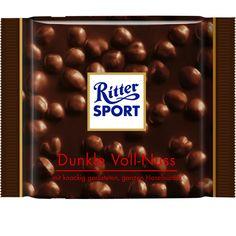 RITTER SPORT Dunkle Voll-Nuss Schokolade - my favorite Ritter!