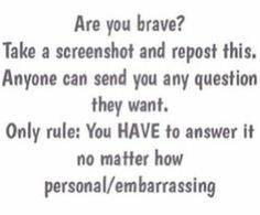 You can ask me anything