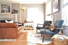 cognac living room contemporary - Google Search