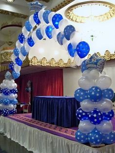 Balloon decor on pinterest balloon arch balloon columns for Balloon cluster decoration