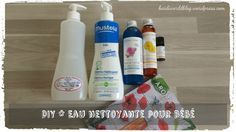 Eau nettoyante bébé maison facile avec extrait de pamplemousse💜💜 Diy Bebe, Natural Cosmetics, Baby Care, Spray Bottle, Alter, Diy Beauty, Diy For Kids, Cleaning Supplies, Fragrance