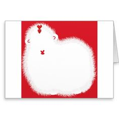 Ewe Are Beautiful Valentine's Day card by SPKCreative Stationery and Gifts features Dance the Sheep with red hearts.