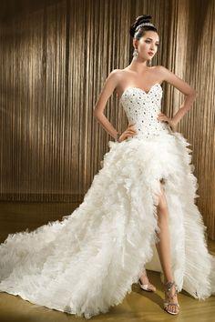 sukienka slubna odkryte nogi - Szukaj w Google