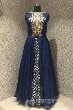 http://www.mangaldeep.co.in/lehengas/indo-western-lehengas/navy-blue-silk-readymade-designer-indowestern-suit-8412 For more information :- Call us @ +919377222211 (Whatsapp Available) (y) :)