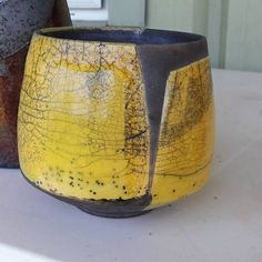 Roman pottery soon became an art unto itself. They did not borrow from the Greeks by painting decorations onto the pottery Raku Pottery, Pottery Sculpture, Pottery Bowls, Pottery Art, Thrown Pottery, Slab Pottery, Pottery Studio, Japanese Ceramics, Japanese Pottery