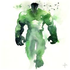 Amazing Avengers Watercolor Series - who's your favorite? | moviepilot.com