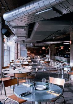 Pizzeria East, London designed by Michaelis Boyd