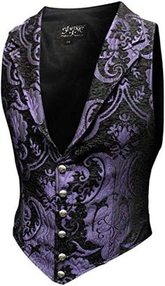 Looking for Shrine Victorian Gothic Formal Steampunk Aristocrat Vest Purple Black Tapestry ? Check out our picks for the Shrine Victorian Gothic Formal Steampunk Aristocrat Vest Purple Black Tapestry from the popular stores - all in one. Purple Prom Suit, Purple Vests, Gothic Corset, Victorian Gothic, Victorian Dresses, Gothic Steampunk, Steampunk Clothing, Steampunk Fashion, Gothic Lolita