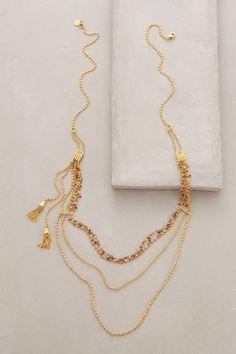 #anthrofave Miranda Layered Necklace - anthropologie.com