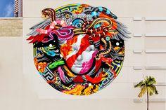"Hawaii x Versace Mural by Tristan Eaton – Traver Dodorye ""The Art Guru"""