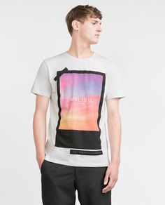Image 2 of PRINTED T-SHIRT from Zara