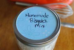 homemade bisquick top