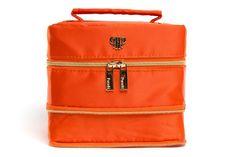 Tiara Vacationer Jewelry Case - Orange/Honeycomb Harbor