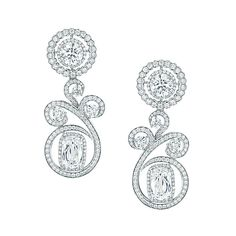 Boodles. Vintage Lace Diamond. Romantic diamond swirls punctuate these grand jewels inspired by sensuous antique lace, bringing together rich Ashoka cut diamonds with round brilliants to striking effect. These are some of the most delicate and precious pieces in our high jewellery collection and each creation encompasses the delicate craftsmanship that surrounds the Boodles brand.