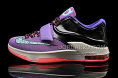 http://www.jordan2u.com/nike-kd-7-cave-purple-hyper-grape-magnet-grey-bleached-turquoise.html Only$99.00 #NIKE KD 7 CAVE PURPLE HYPER GRAPE MAGNET GREY BLEACHED TURQUOISE #Free #Shipping!