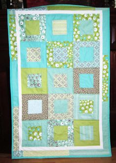 Vintage Crib Quilt Toddler Quilt by diningout, $106.94