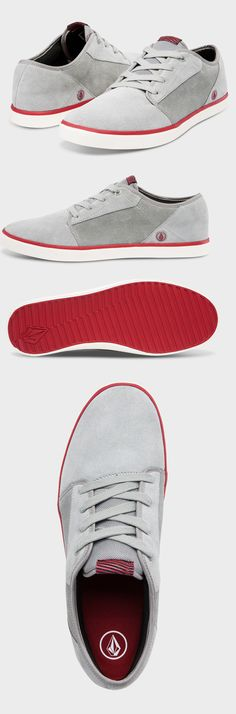 Volcom Shoes. White, light and comfortable. Not difficult to make a good impression with those...