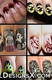 mix halloween nail design - Nail Designs & Nail Art