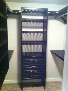 Gentil Large Walk In Closet. Espresso Stain. Closet System, Closet Organization,  Walk