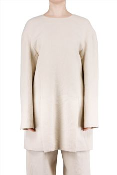 and virgin blend by Wang in is art Superfly, Tie Backs, Wearable Art, Wool Blend, Backless, Kensington London, Feminine, Beige, Draping