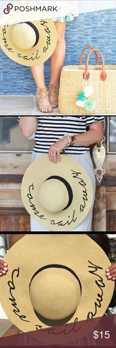 Abercrombie Come Sail Away Hat Perfect for vacation! NWT Abercrombie & Fitch Accessories Hats