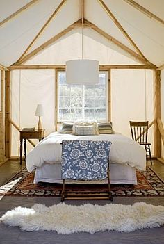 This is how our wall tent will look when I get to fix it MY way!