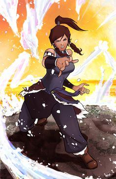 i really have been enjouing the legend of korra on nickelodeon. I decided I would try a quick sketch piece thing earlier- my intention was to give her m. Avatar Ang, Korra Avatar, Team Avatar, Avatar World, Nickelodeon Cartoons, Avatar Series, Korrasami, Animation, Freedom Fighters