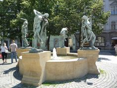 Awesome Fountain in Prague - loved this city. Good food and amazing history at every turn Travel Log, Beach Fun, Live Music, Awesome, Amazing, Mount Rushmore, Fountain, To Go, Journey