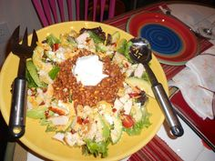 Mexican dinner salad
